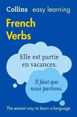 Easy Learning French Verbs by Collins Dictionaries 9780008158415 | Brand New
