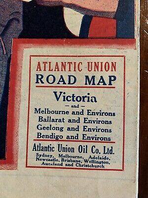 old maps Victoria