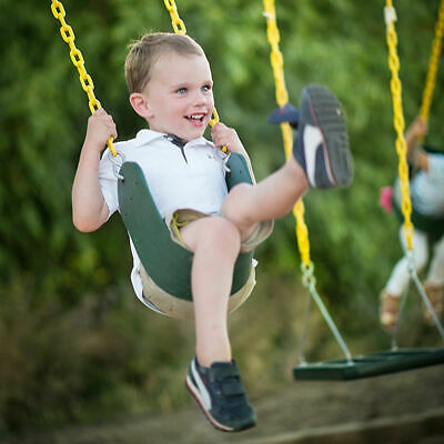 Heavy Duty Swing Seat Set With 2 Chains Hook Swing Accessories For Adult Kids US