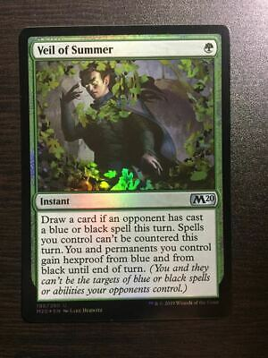 Mtg Foil English Version Summer Book Veil Of card good condition from japan 178