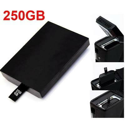 Internal Xbox 360 Slim Hard Drive Disk Shell 250GB For Microsoft Xbox 360 Games.