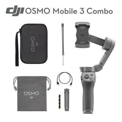 DJI Osmo Mobile 3 Combo Stabilizer 3-Axis Handheld Gimbal for iPhone XS X R 8+ 7