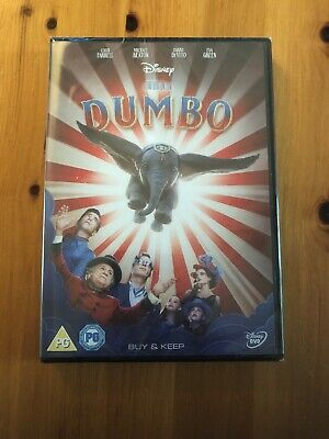 Dumbo - Disney Studios (2019) - Dvd Brand New Sealed  *Free P&P*