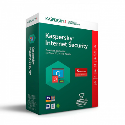 KASPERSKY Internet Security 2019 2020 1 Pc 1 Year device - Global Key ⚡️