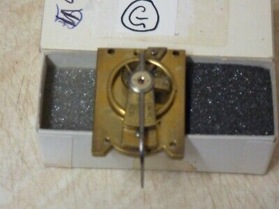 Old Carriage Clock  Platform Escapement In Good Working Order (G) Free Post