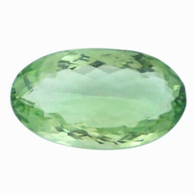 Natural 18.70cts amethyst green faceted 25x14 mm oval loose gemstone s4413