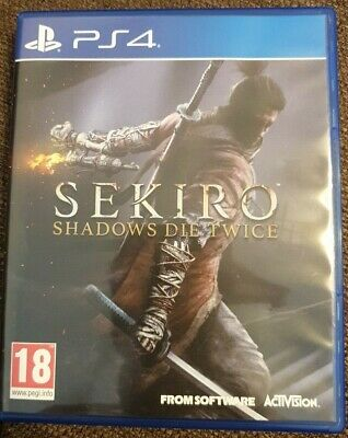 Sekiro: Shadows Die Twice -- Standard Edition (Sony PlayStation 4, 2019)