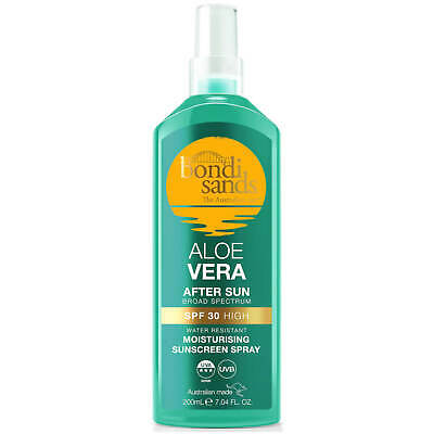 Bondi Sands Aloe Vera High SPF30 After Sun Lotion 200ml Water Resistant Cooling