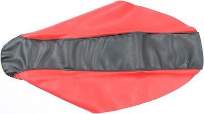 Cycle Works Seat Cover Red/Black 35-11504-21
