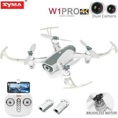 Syma W1PRO GPS 2.4G-5G RC Quadcopter Brushless Drone with 4K WIFI Dual HD Camera