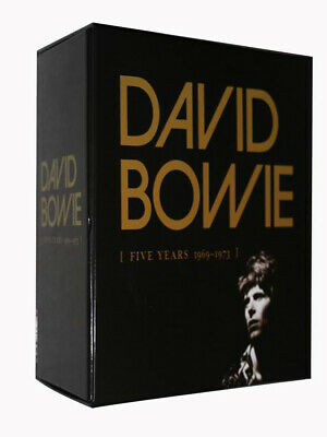 """David Bowie """"Five Years 1969-1973"""" 12 CD Box Set Collection Free shipping"""