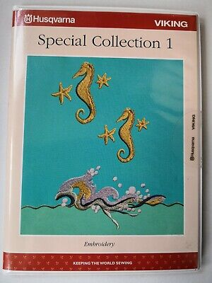 HUSQVARNA VIKING  SPECIAL COLLECTION 1 Embroidery Card