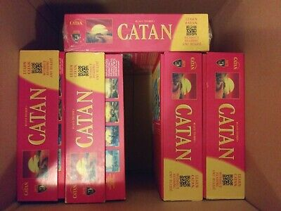 CATAN 5th EDITION BOARD GAME (3-4 PLAYERS) 4 GAME BOARDS