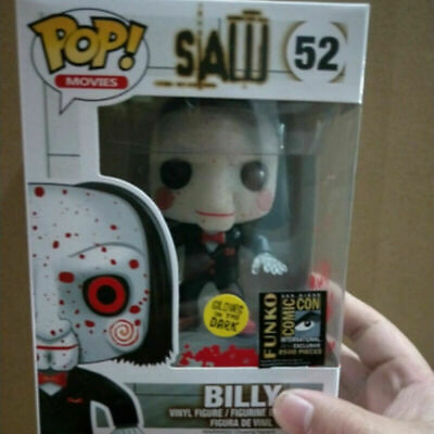 10CM Luminous Version Funko POP SAW BILLY 52# Action Figure Collectible Model