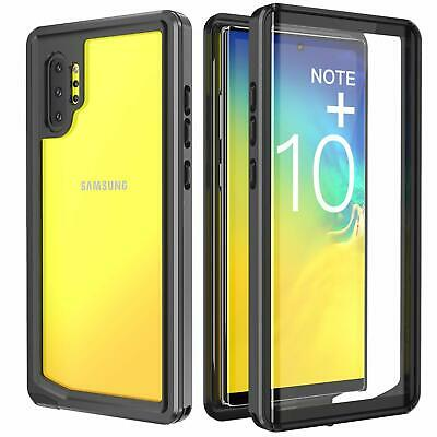 Samsung Galaxy Note 10+ Plus 5G Case Built-in Screen Protector Full Body Rugged