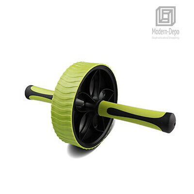 Ab Wheel Roller Abdominal Crunch Exercises Fitness Workouts Home Gym Equipment