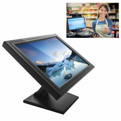"""USED 17"""" Touch Screen Touchscreen Monitor Point of Sale Monitor POS 1280x1024 AU"""