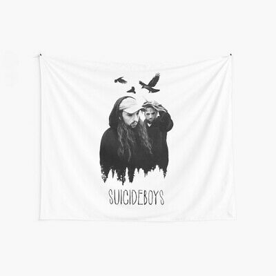 Crows Suicideboys Wall Tapestry, Rapper Wall Tapestry