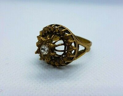 Rare Ancient Antique Bronze Ring Roman Artifact Bronze Ring Authentic Stunning