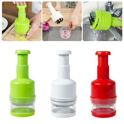 Onion Garlic Chopper Food Vegetable Pressing Cutter Slicer Peeler Mincer Dicer