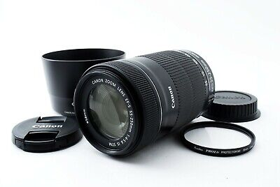 Canon EF-S 55-250mm f4-5.6 IS STM Lens 55-250/4-5.6 From Japan [Very Good]