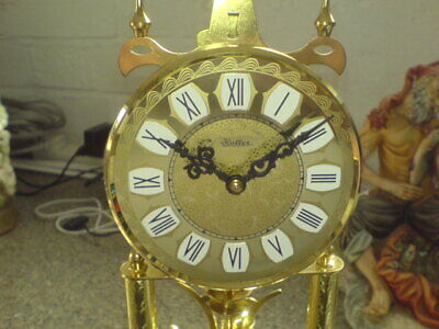 "Haller - Anniversary Clock - 12"" To Top Of Dome - In Need Of New Suspension"