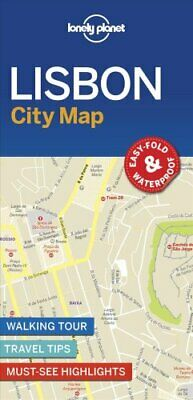 Lonely Planet Lisbon City Map by Lonely Planet 9781787014619 | Brand New