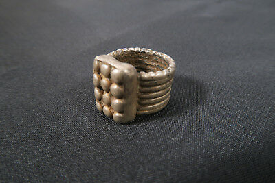 Alter Silberring Gondar Äthiopien  A Used Old silver ring bague Afrozip