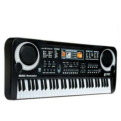 61 Keys Music Keyboard Digital Electronic Key Board Electric Piano for Kids new