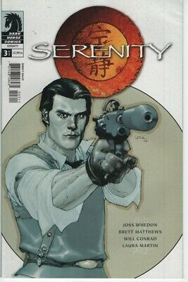 Serenity #3 Simon cover comic book Friefly TV show series Joss Whedion