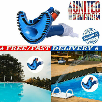 Jet Pond Spa Vacuum Cleaner + 5 pcs Pole Swimming Pool Hot Tub Super  Fountain