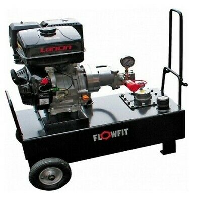 Loncin Petrol Engine Driven, Hydraulic Double Acting Power Unit