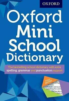 Oxford Mini School Dictionary by Oxford Dictionaries 9780192747082   Brand New