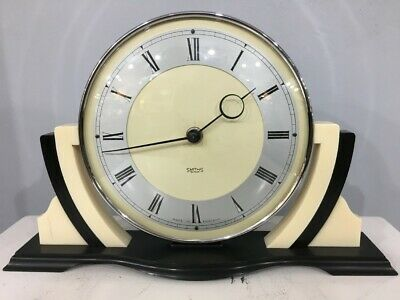 Smiths 30hr Stylish Clock Fully Serviced 12mnth Guarantee c1950