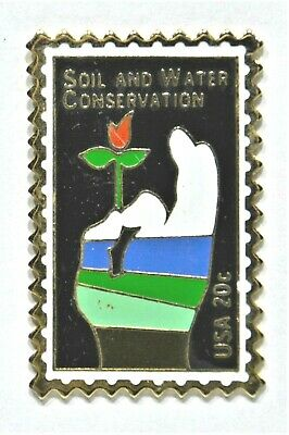 Pins Timbre Soil And Water Conservation Usa 20 C Etats Unis