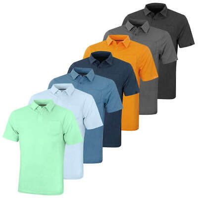 Under Armour Mens 2019 CC Scramble Charged Cotton Stretch Golf Polo Shirt