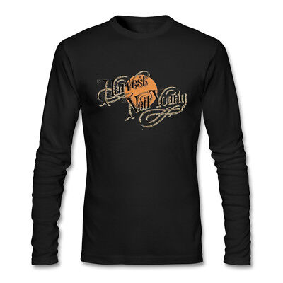 Fashion Neil Young Music Long Sleeve Men's T-Shirts New