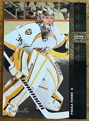 2012-13 Pekka Rinne Upper Deck Sp Authentic 94-95 Sp Retro #Sp53 Predators