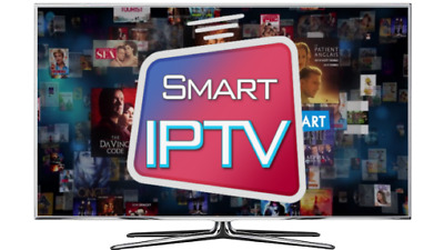 IPTV Subscription 12 Months PREMIUM with VOD - Smart TV, Firestick, Android, MAG