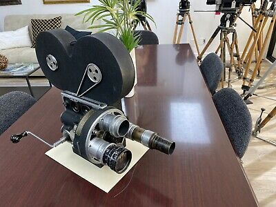 Bell & Howell 2709 16mm version of 35mm model  Motion Picture Camera Very Rare!
