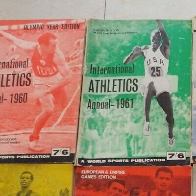 International Athletics Annual 1961 - ATFS (World Sports) - Ottimo stato