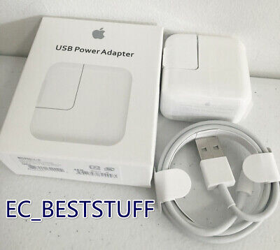 New OEM 12W Apple Charger & lightning Cable for iPad Mini Air Airpods iPhone lot