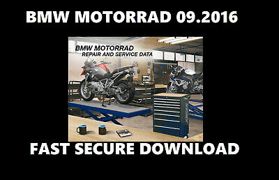 Bmw Motorrad (Rsd) 09.2016 ✔️Bmw Repair And Service Data Software✔️ Download
