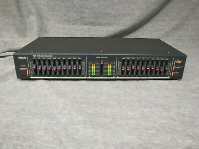 Teac Eqa-5 10-Band Graphic Equalizer , Vintage
