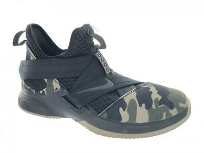 low priced 2dece 303d0 KIDS' NIKE LEBRON Soldier XII 12 SFG GS Athletic Shoes AO2910-001 Camo Size  6.5Y