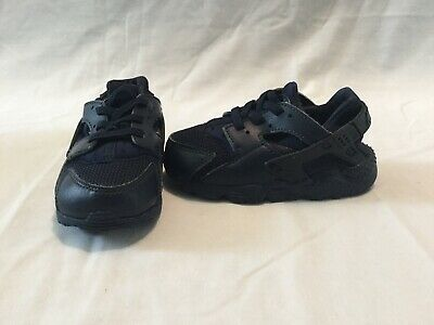 best loved f335a 21ea0 NIKE HUARACHE RUN Infant/toddler Boys All Navy Blue Shoes--size 7 C