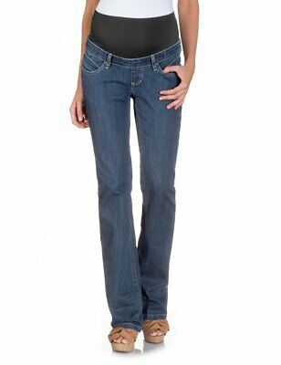 Bellybutton - Pantaloni boot cut, donna,  Blu (Blau (Denim)),  38W/33L