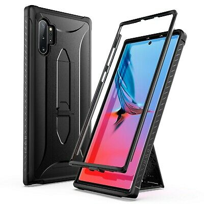 Knox Armor Shockproof Kickstand PC Cover Case for Samsung Galaxy Note 10 Plus 5G