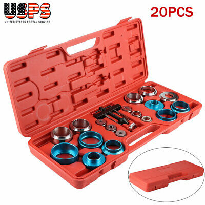 20PCS Camshaft Crank Crankshaft Oil Seal Remover / Installer Removal Tool Kit US