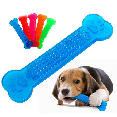 NEW Durable Dog Chew Toys—Rubber Bone Toy for Aggressive Chewers— Indestructible